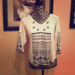 Lucky Brand boho top - medium